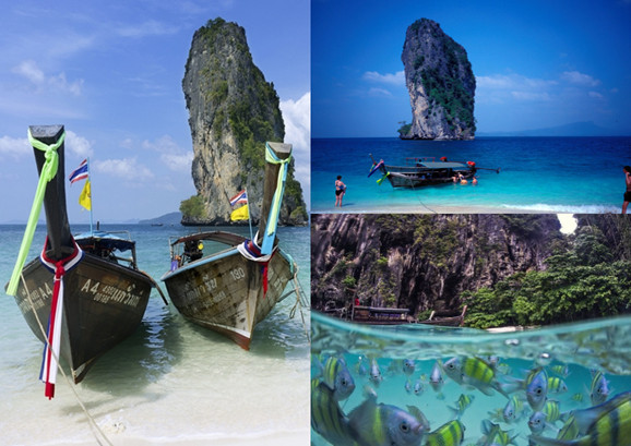 泰国波达岛:静可看壁画动可去喂鱼