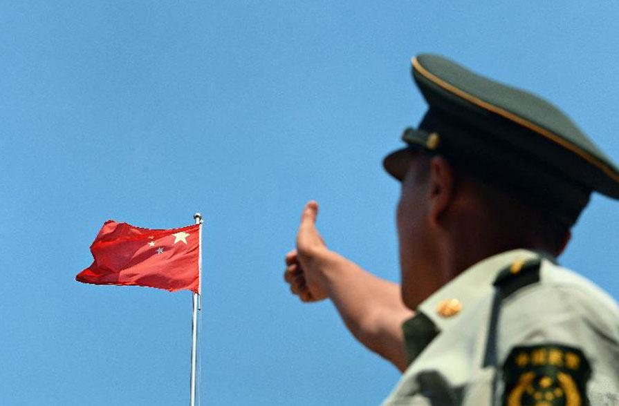 我为祖国点赞图画_《我和国旗合个影,我为祖国来点赞》