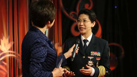 全国最美女性国防大学教授梁芳讲述自己奋斗的故事