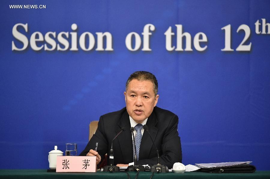 تشانغ ماو رئيس مصلحة الدولة للصناعة والتجارة