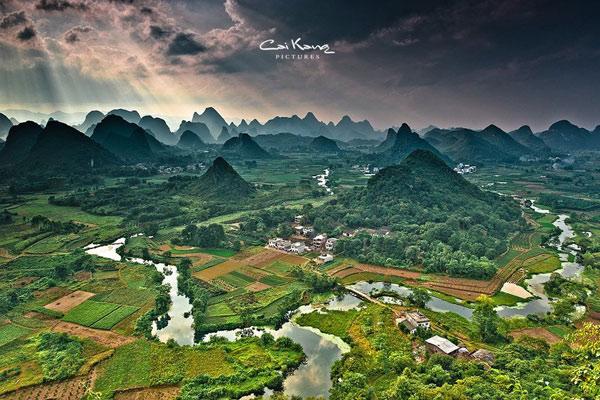 绿皮车外的风景 带你去看国内最美的风景线