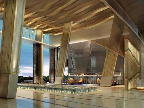 2014年 三亚海棠湾民生威斯汀度假酒店 .