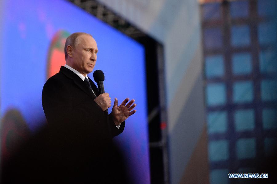 Санкции Запада не считаются фатальными для развития Крыма -- В. Путин