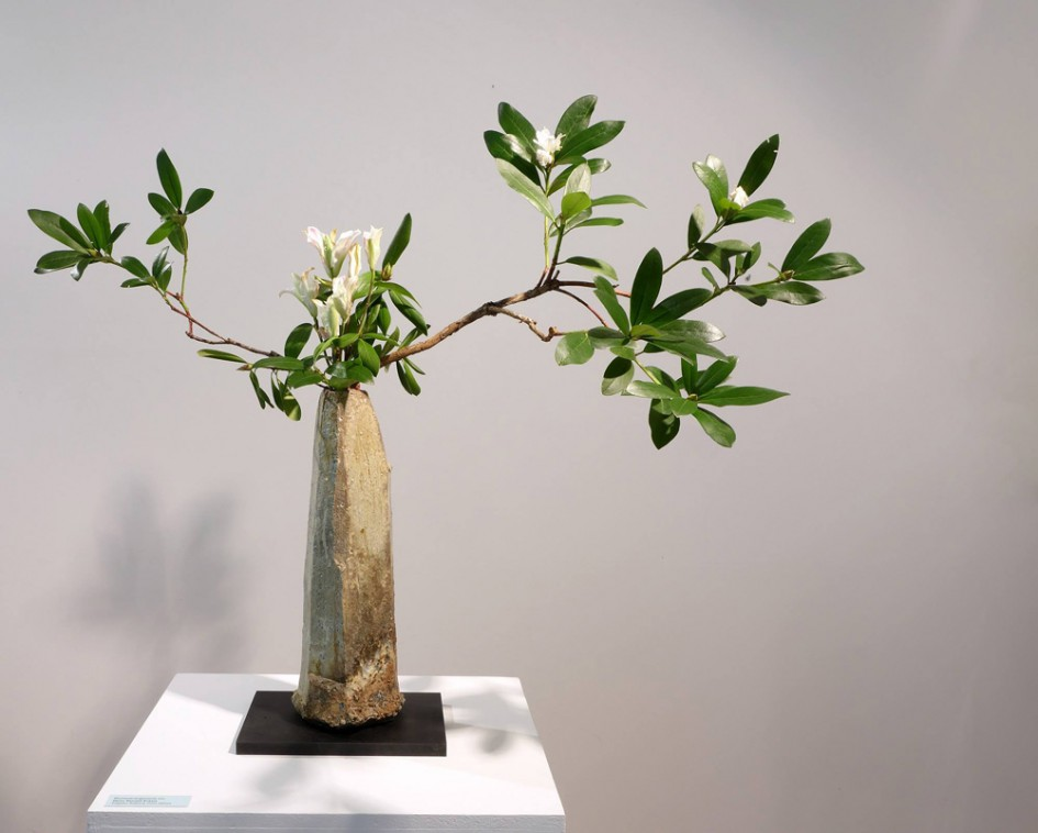 Ikebana is the traditi...