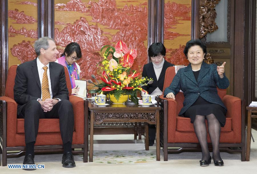 Лю Яньдун встретилась с президентом Калифорнийского технологического института