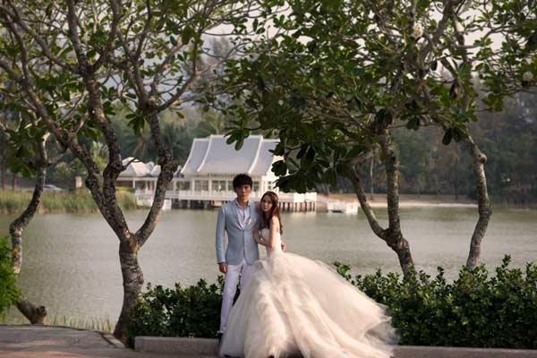 伊能静21日泰国普吉岛大婚 唯美婚纱照曝光(图)
