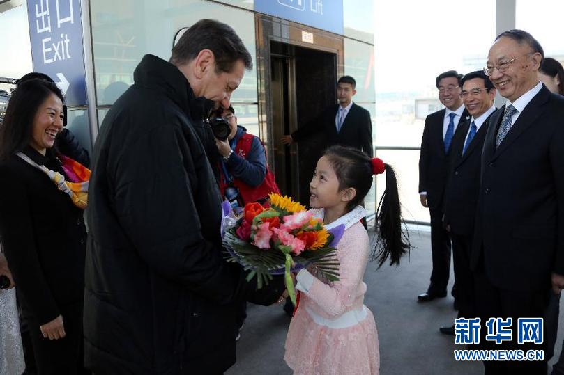 Председатель оценочной комиссии МОК Александр Жуков прибыл в Пекин