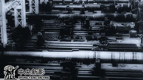 20世紀初德國克虜伯大炮生產線