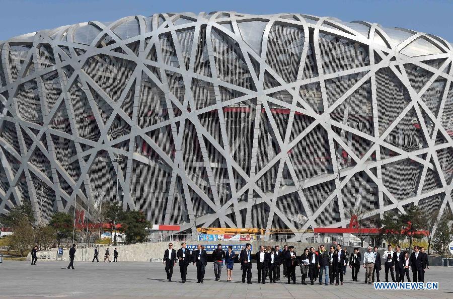 Оценочная комиссия МОК приступила к инспекции спортивных объектов Пекина, которые предлагается использовать во время зимней Олимпиады- 2022