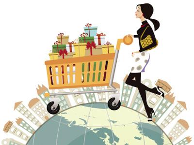 """商贸:""""海外购物""""将更方便、安全"""