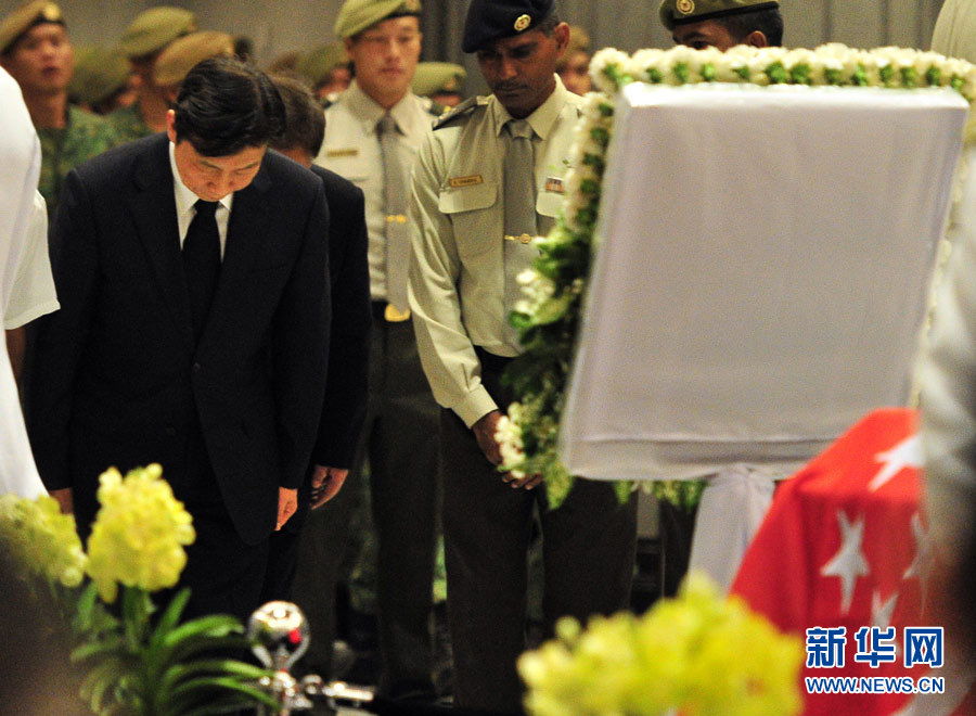 Chinese VP among delegates at Lee Kuan Yew