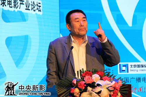 中央电视台副台长、中央新影集团董事长兼总裁高峰