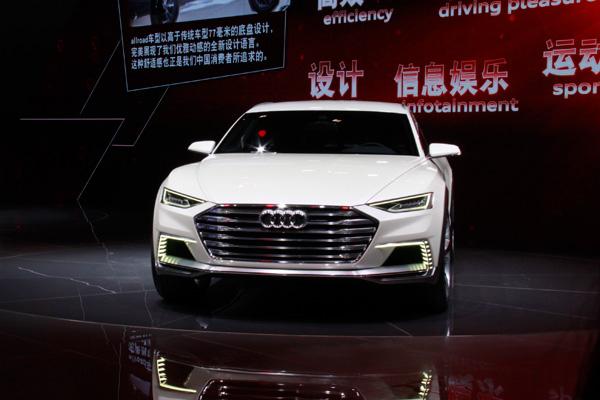 allroad概念车皆代表了奥迪最新的设计风格,设计师采用更大胆力的设计