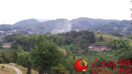 这就是坐落于永春西南隅的仙夹镇龙水村,永春漆篮的主产地。