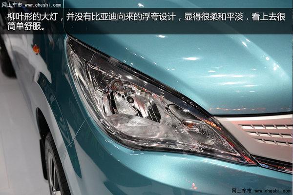 早在2014年的北京车展上,比亚迪的这款混合动力7座mpv就已高清图片