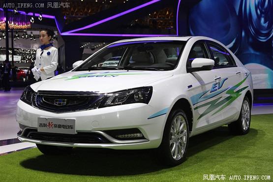 吉利新帝豪电动版车型将在年内上市高清图片