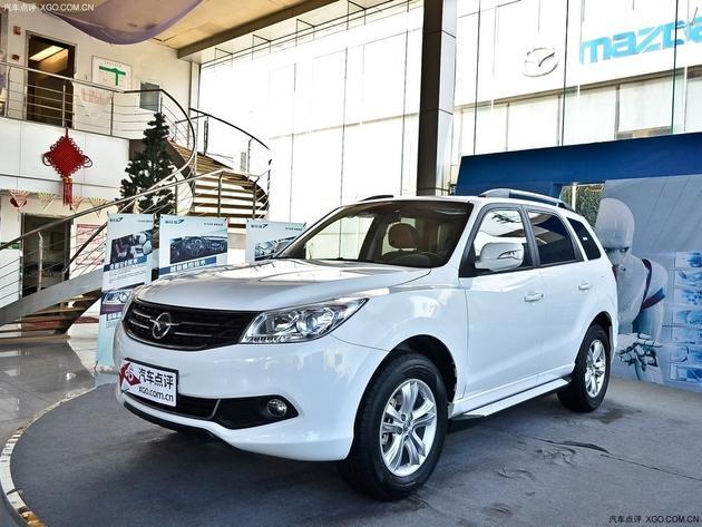 海马s7综合优惠1.5万元 少量现车在售中高清图片