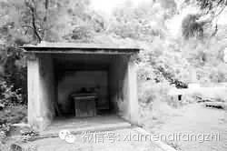 ▲村民建起的小庙以祭无辜亡魂
