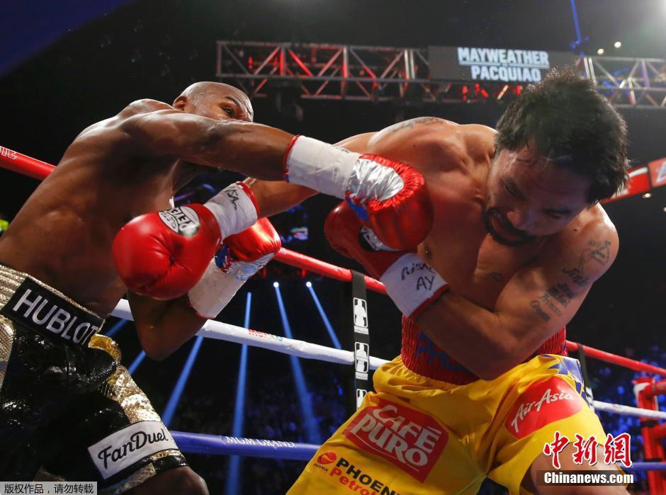 Боксер Мэйуэзер откажется от всех титулов: целью его карьеры был девятизначный гонорар за бой