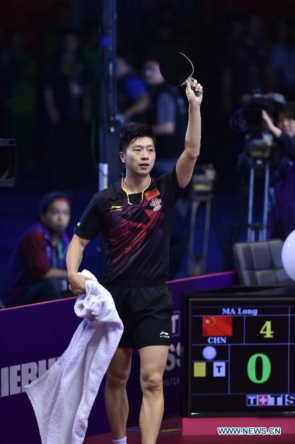 Ма Лун стал победителем чемпионата мира по настольному теннису-2015