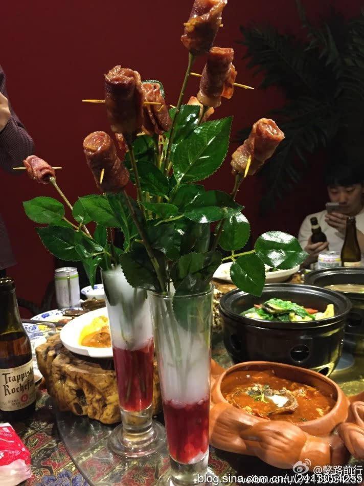 哈尔滨中央大街美食攻略 小娘惹马来西亚餐厅图片 97986 712x950