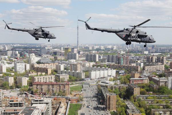 В Москве прошла репетиция воздушной части парада Марина Лысцева/ТАСС