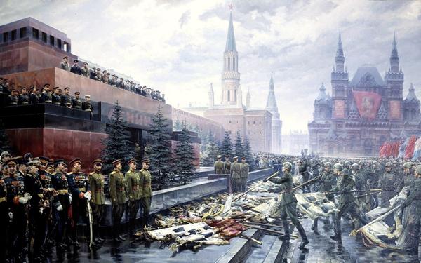 Архив: 24 июня 1945 года, в Москве на Красной площади состоялся Парад Победы