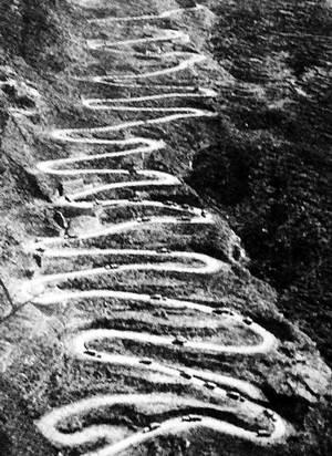 抗战时的滇缅公路