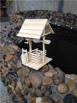 筷子手工制作架子