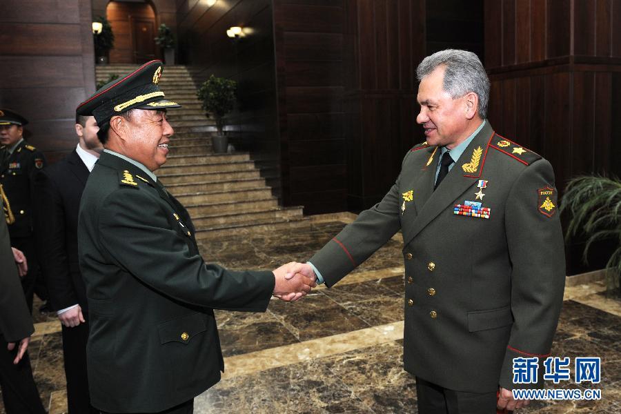 Военные чиновники Китая и России провели переговоры в Москве