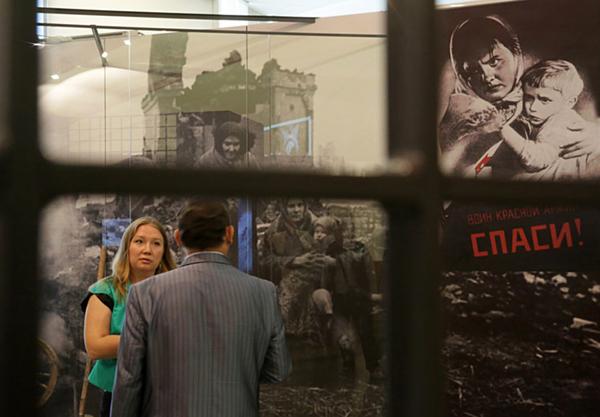 Архив: Центральный музей ВОВ в Москве отметил 20-летие со дня открытия Фото ИТАР-ТАСС/ Павел Смертин