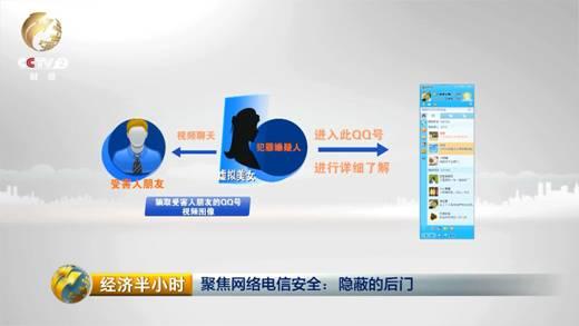 犯罪分子用虚拟美女骗取受害人朋友的qq视频聊天图像