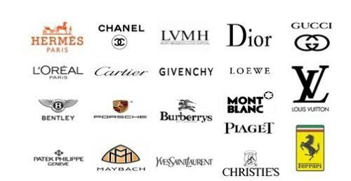 矢量国际品牌奢侈品服装品牌标志logo(图片