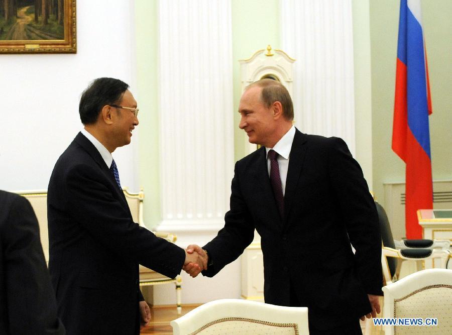 В. Путин встретился с секретарями Советов безопасности стран БРИКС.
