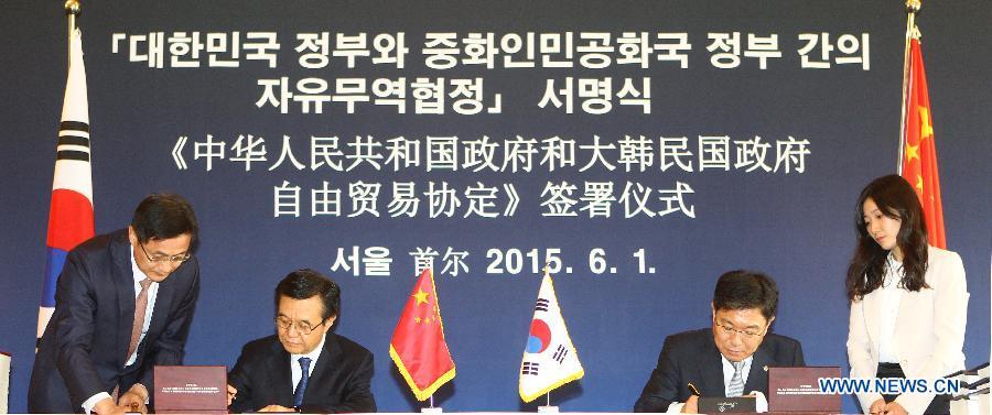 Обзор: соглашение о свободной торговле Китая и РК демонстрирует новую структуру всемерной внешней открытости Китая