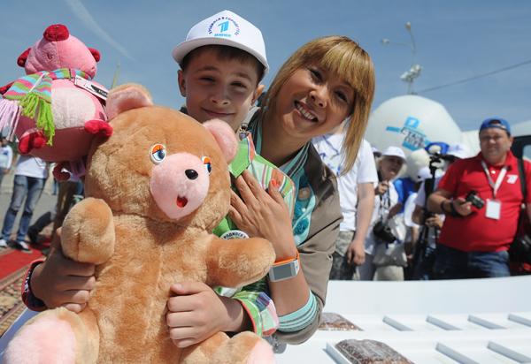 В России отмечают Международный день защиты детей. Александр Рюмин/ТАСС