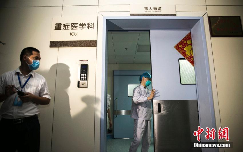 直击广东惠州人民医院救治MERS病例 ICU全天