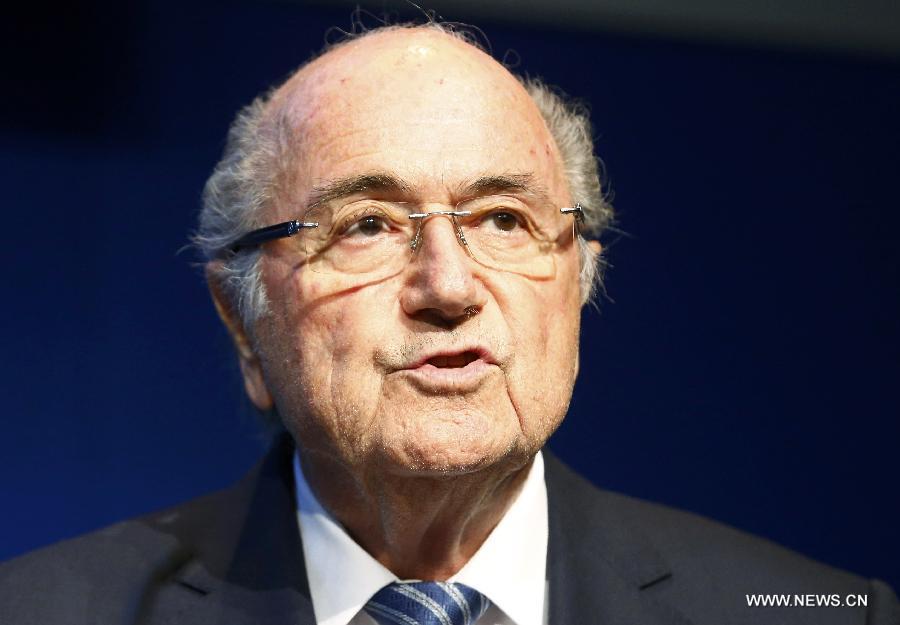 Й. Блаттер объявил об отставке с поста президента ФИФА