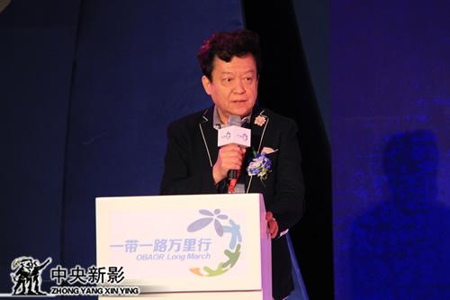 国际著名小提琴艺术家、中国社会艺术协会主席盛中国致辞