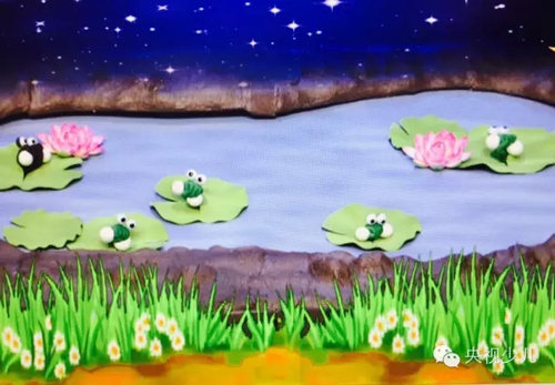 欢乐的池塘里有只小青蛙是什么歌