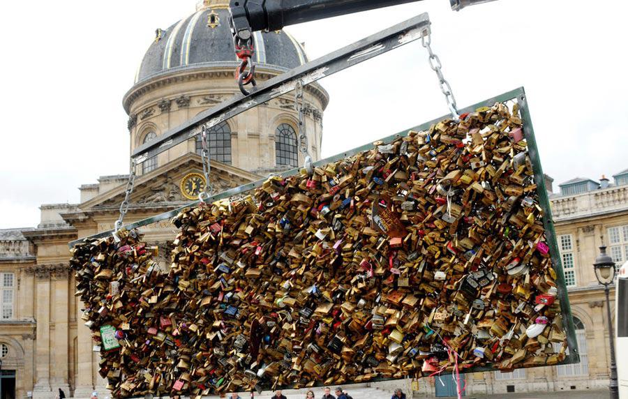pont cadenas paris
