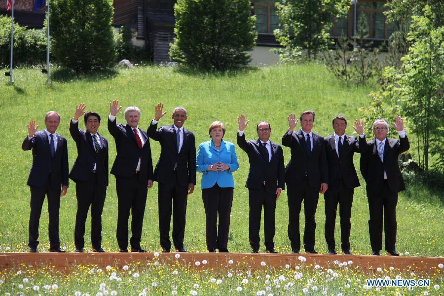 """В Германии открылся саммит """"Группы семи"""""""