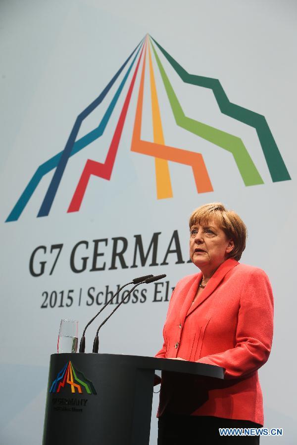 """А.Меркель: """"Группа 7"""" должна в сотрудничестве с Россией решать некоторые глобальные вопросы"""