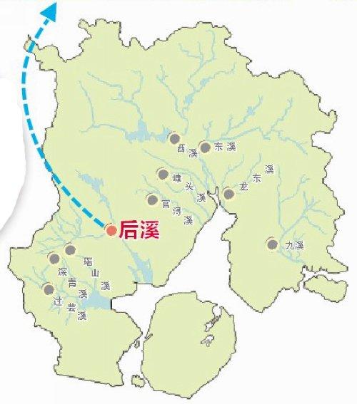 生物岛水系图