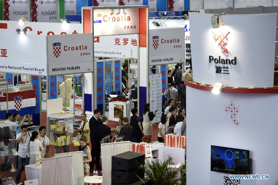 В городе Нинбо открылась выставка товаров стран Центральной и Восточной Европы