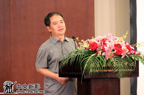 中央新影集团总编室主任郑富权代表评委会发言