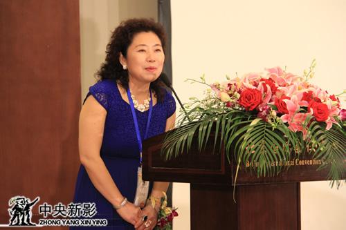中法国际纪录片微电影双年展组委会秘书长朱雪梅致辞
