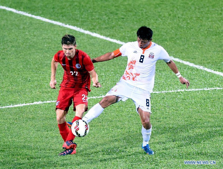 Сборная САР Сянган разгромила Бутан в рамках квалификационных соревнований на ЧМ по футболу-2018