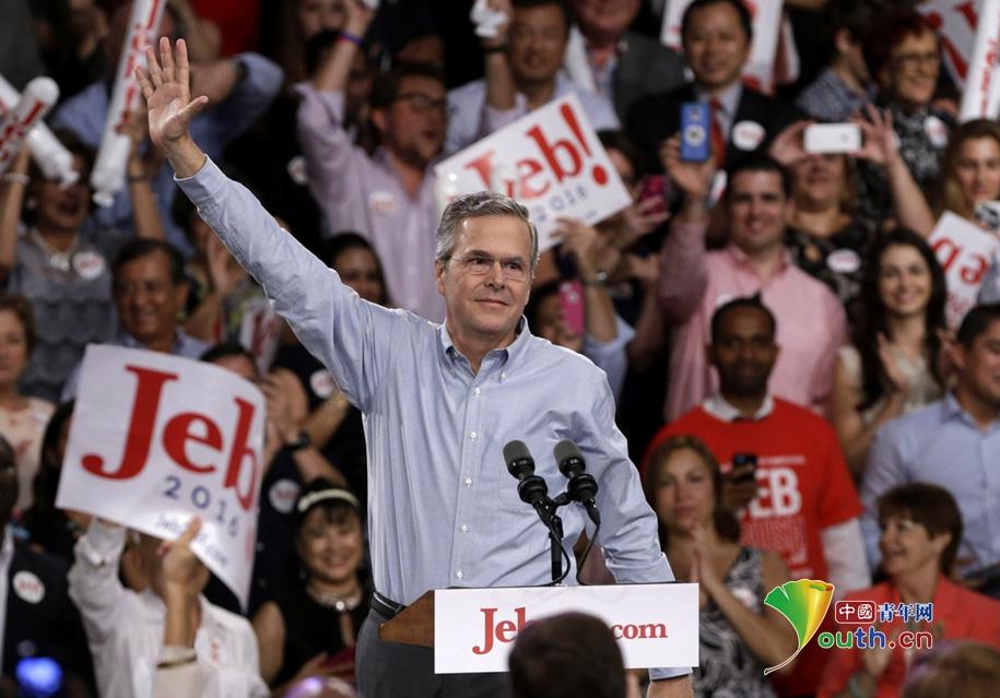 Jeb Bush souhaite être le prochain Bush à la