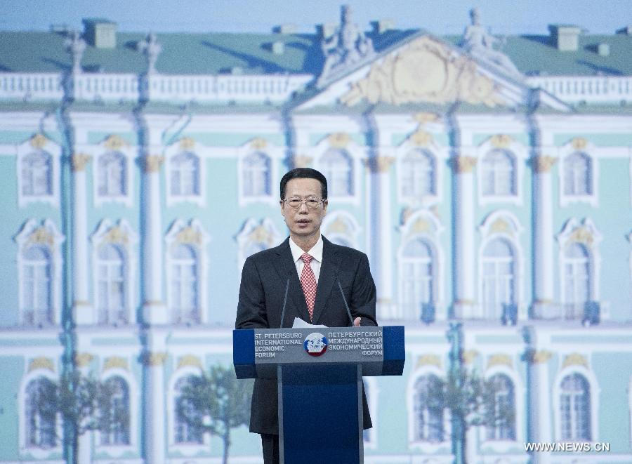 نائب رئيس مجلس الدولة الصيني تشانغ قاو لي